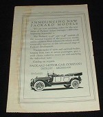 1914 Packard Salon Touring Car 6-psgr Ad!!!