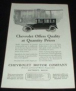 1923 Chevrolet Superior Car Ad, Quality!!!