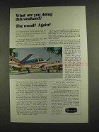 1972 Beechcraft Bonanza Ad - Doing this Weekend?