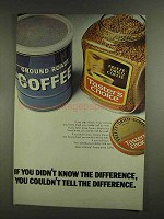1972 Taster's Choice Freeze-Dried Coffee Ad