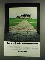1972 New York State Tourism Ad - You Thought You Knew