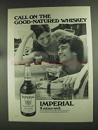 1972 Hiram Walker Imperial Whiskey Ad - Good-Natured - Poolside