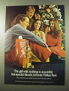 1972 Johnnie Walker Red Label Scotch Ad - The Gift