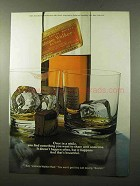 1972 Johnnie Walker Red Label Scotch Ad - Once