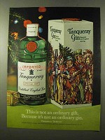 1972 Tanqueray Gin Ad - This is Not Ordinary