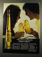 1972 Galliano Liquore Ad - May All Your Collinses Be