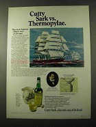 1972 Cutty Sark Scotch Ad - Vs. Thermopylae