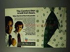 1972 Sears The-Comfort-Shirt Ad - In Knit