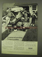 1972 GMAC Financing Ad - Camping Out is One Thing
