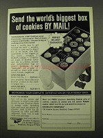 1972 Keebler Cookies Ad - World's Biggest Box by Mail