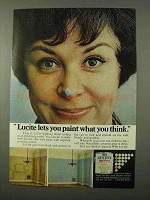1972 Du Pont Lucite Paint Ad - Paint What You think