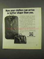 1972 American Tourister Car Bag and Club Tote Ad