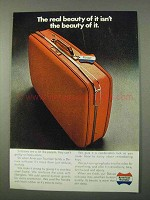 1972 American Tourister Deluxe Suitcase Ad - Real Beauty