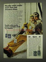 1972 Woolite Detergent Ad - Safely Soaks More Than Sweaters