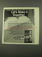 1972 Ramada Inn Ad - Let's Make It Together