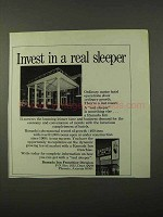 1972 Ramada Inn Ad - Invest in a Real Sleeper