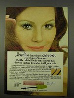 1972 Maybelline Great-Lash Mascara Ad - Protein