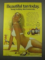 1972 Coppertone Suntan Lotion Ad - Beautiful Today