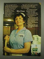 1972 Holiday Inn Ad - Mrs. Clean