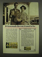 1972 Minute Maid Frozen Lemonade Ad - Way it Used to Be