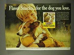 1972 Milk-Bone Flavor Snacks Ad - For Dog You Love