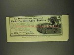 1908 Samuel Cabot Shingle Stains Ad - Thousands Used