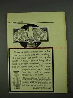 1908 Macbeth Lamp-Chimneys Ad - Cost A Few Cents More