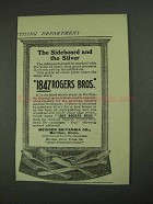 1908 1847 Rogers Bros. Silver Ad - The Sideboard