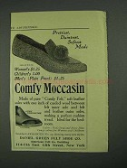 1908 Daniel Green Comfy Moccasin Ad - Prettiest