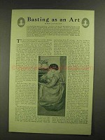 1907 Armour's Extract of Beef Ad - Basting as An Art