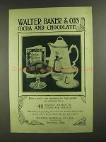 1907 Baker's Cocoa & Chocolate Ad