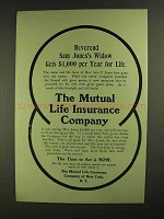 1907 The Mutual Life Insurance Company Ad