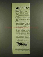 1907 Ford Model K Ad - Don't be a Year-Behind-Er
