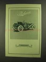 1908 Packard Thirty Car Ad