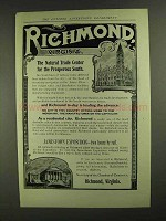 1907 Richmond Virginia Chamber of Commerce Ad