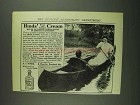 1907 Hinds' Honey and Almond Cream Ad