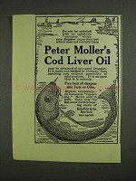 1907 Peter Moller's Cod Liver Oil Ad