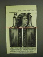 1907 Hall's Hair Renewer Ad - Falling Hair By Germ