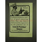 1907 Lea & Perrins' Worcestershire Sauce Ad - Success