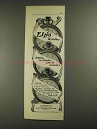 1903 Elgin National Watch Co Ad - One in Accuracy