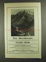 1903 Canadian Pacific Railway Ad - The Illecillewaet