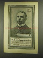 1903 The Youth's Companion Ad - Henry S. Pritchett