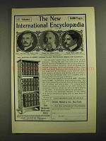 1903 Dodd, Mead & Co. New International Encyclopedia Ad - NICE!