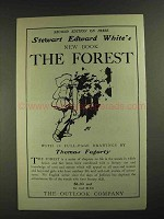 1903 The Forest Book by Stewart Edward White Ad