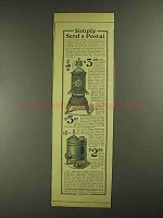 1903 Montgomery Ward Home Oak Stove & Heater Ad