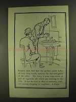 1903 Ivory Soap Ad - Business Men Find Quick Lather