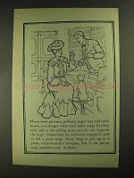1903 Ivory Soap Ad - Pictures, Perfume, Paper Lace
