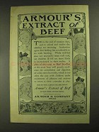 1903 Armour's Extract of Beef Ad