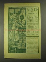 1903 Swift's Premium Hams and Bacon Ad - At the Top