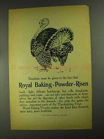 1903 Royal Baking Powder Ad - Emphasis Must Be Given